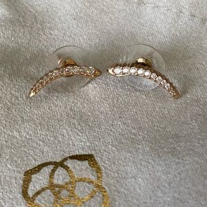 Kendra Scott Rose Gold Ear-Climbers